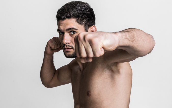 """PRO MMA FIGHTER """"Prince"""" Rany Saadeh."""