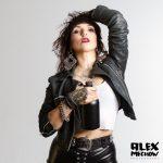 Werbefotos für GRACE O MALLEY WHISKEY mit Sideshowkünstlerin und Performerin EVELYN FRANTTI .